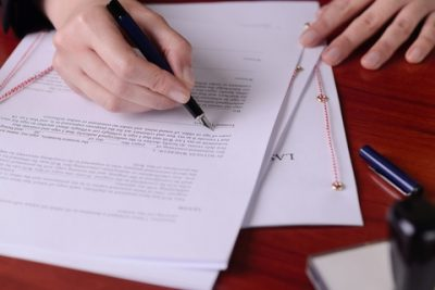 The Act of Revoking or Changing a Will