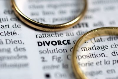 divorce dictionary entry with two rings