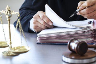 probate court judge signing paperwork